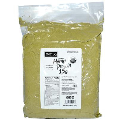 Picture of Nutiva Organic Hemp Protein - 3 lbs