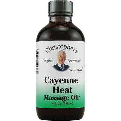 Picture of Christopher's Cayenne Heat Massage Oil - 4 fl oz