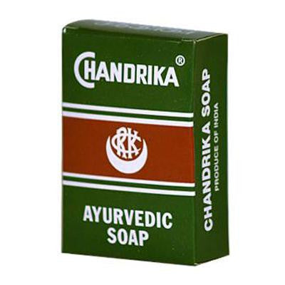 Picture of Chandrika Soap Ayurvedic Herbal and Vegetable Oil Soap - 2.64 oz - Case of 10