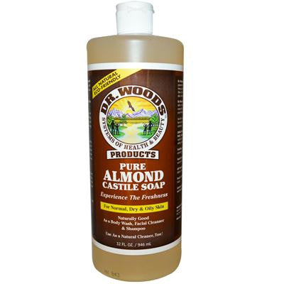 Picture of Dr. Woods Pure Castile Soap Almond - 32 fl oz