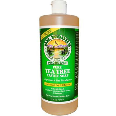 Picture of Dr. Woods Pure Castile Soap Tea Tree - 32 fl oz