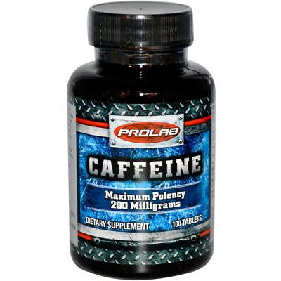 Picture of ProLab Caffeine - 200 mg - 100 Tablets