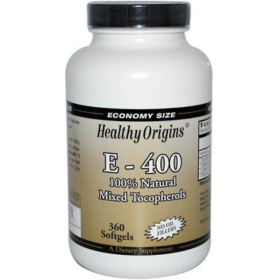 Picture of Healthy Origins E-400 - 400 IU - 360 Softgels