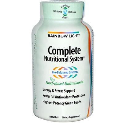 Picture of Rainbow Light Complete Nutritional System - 180 Tablets