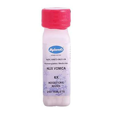 Picture of Hyland's Nux Vomica 6x - 250 Tablets