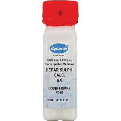 Picture of Hyland's Calcium Hepar Sulphate 6x - 250 Tablets