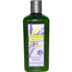 Andalou Naturals Refreshing Shower Gel Lavender Thyme - 11 fl oz