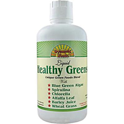 Picture of Dynamic Health Healthy Greens Liquid - 32 fl oz