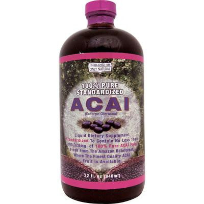 Picture of Only Natural Acai Berry Liquid - 32 fl oz