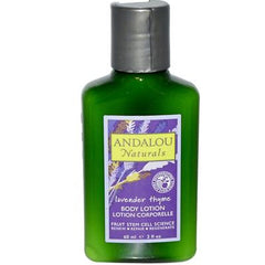Andalou Naturals Refreshing Body Lotion Travel Size Lavender Thyme - 2 fl oz