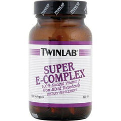 Twinlab Super E-Complex - 400 IU - 100 Softgels