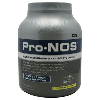 Picture of MRI Pro-Nos Whey Complex - Banana - 3 lbs