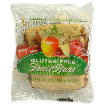 Picture of Betty Lou's Gluten Free Fruit Bars Apple Cinnamon - 2 oz - Case of 12
