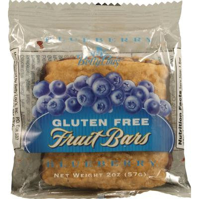 Picture of Betty Lou's Gluten Free Fruit Bars Blueberry - 2 oz - Case of 12