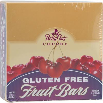Picture of Betty Lou's Gluten Free Fruit Bars Cherry - 12 Bars - Case of 12