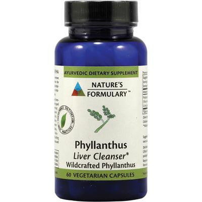 Picture of Nature's Formulary Phyllanthus - 60 Vegetarian Capsules