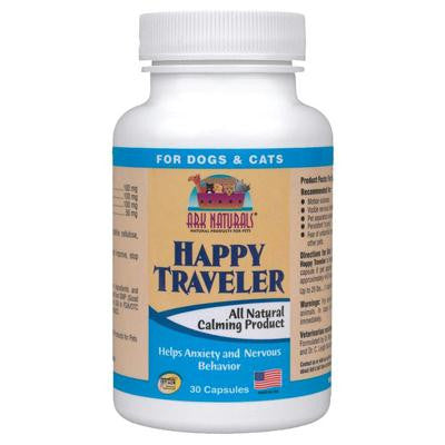 Picture of Ark Naturals Happy Traveler for Dogs and Cats - 30 Capsules