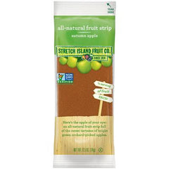 Stretch Island Fruit Leather Snack - Apple - Case of 30 - .5 oz