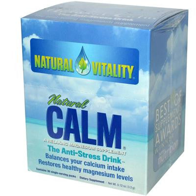 Picture of Natural Vitality Natural Magnesium Calm - 30 Packets