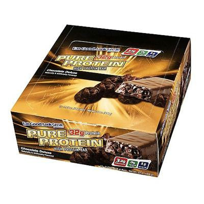Picture of Pure Protein Bar - Chocolate Deluxe - Case of 6 - 50 Grams