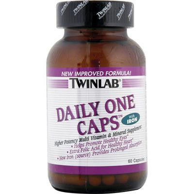 Picture of Twinlab Daily One Caps with Iron - 60 Capsules