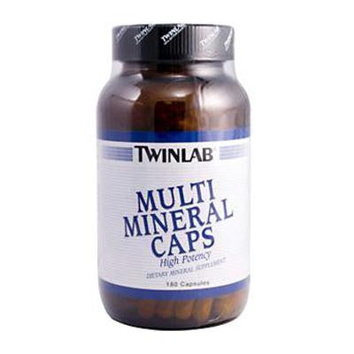 Picture of Twinlab Multi Mineral Caps - 180 Capsules