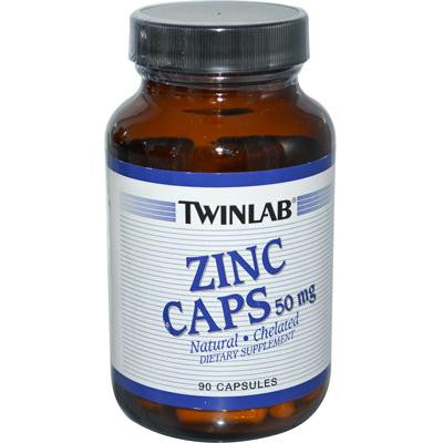 Picture of Twinlab Zinc Caps - 50 mg - 90 Capsules