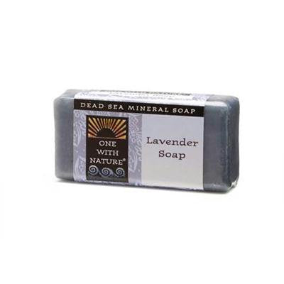 Picture of One With Nature Dead Sea Mini Bar - Lavender - Case of 20 - 1.05 oz