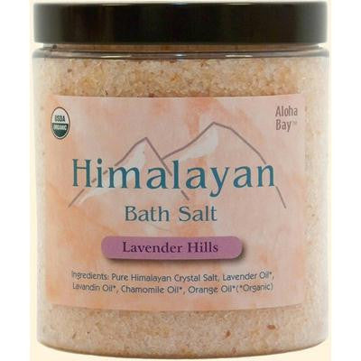 Picture of Himalayan Bath Salt Lavender Hills - 24 oz