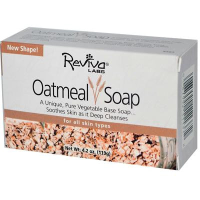 Picture of Reviva Labs Oatmeal Soap - 4.5 oz