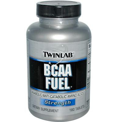 Picture of Twinlab BCAA Fuel - 180 Tablets
