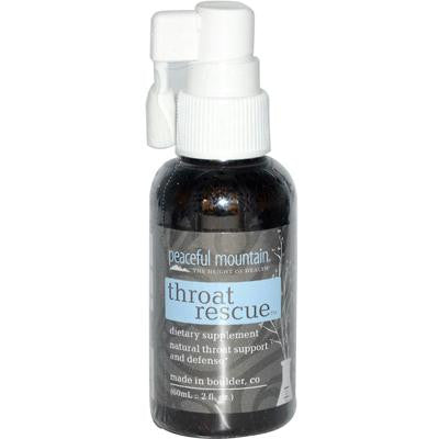 Picture of Peaceful Mountain Throat Rescue Spray - 2 fl oz