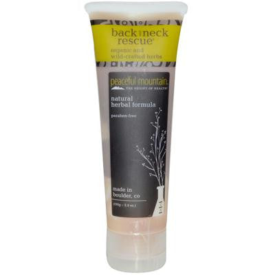 Picture of Peaceful Mountain Back And Neck Rescue Gel - 3.5 oz