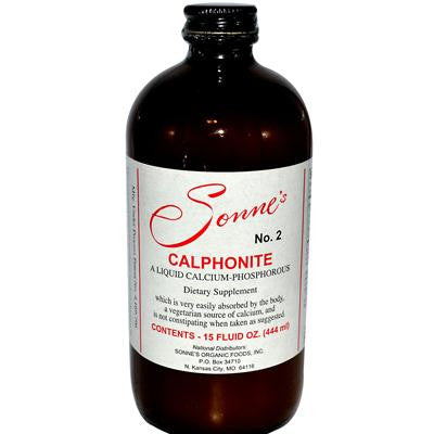 Picture of Sonne's Calphonite No 2 Liquid Calcium Phosphorus - 15 fl oz