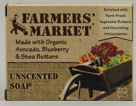Picture of Farmer's Market Bar Soap Unscented - 5.5 oz