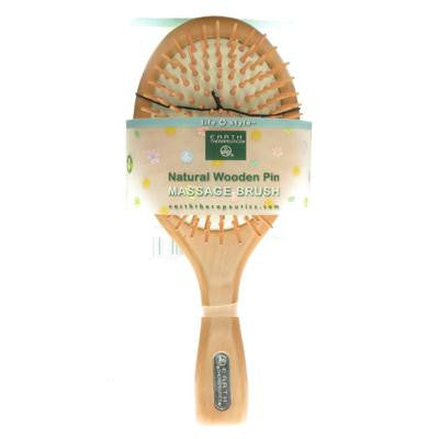 Picture of Earth Therapeutics Natural Wooden Pin Massage Brush Large - 1 Brush