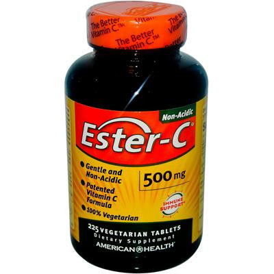 Picture of American Health Ester-C - 500 mg - 225 Vegetarian Tablets