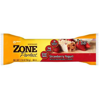 Picture of Zone Nutrition Bar - Strawberry Yogurt - Case of 12 - 1.76 oz