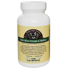 Dancing Paws Daily Multi Vitamin and Mineral For Cats - 90 Capsules