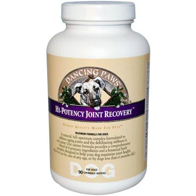 Picture of Dancing Paws Hi-Potency Joint Recovery for Dogs - 90 Chewable Wafers
