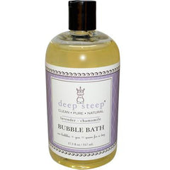 Deep Steep Bubble Bath Lavender Chamomile - 17 fl oz