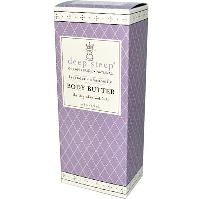 Picture of Deep Steep Body Butter Lavender Chamomile - 6 fl oz