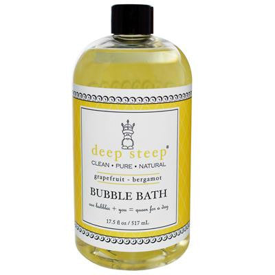 Picture of Deep Steep Bubble Bath Grapefruit Bergamot - 17 fl oz