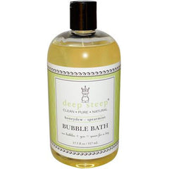 Deep Steep Bubble Bath Honeydew Spearmint - 17 fl oz