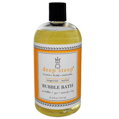 Picture of Deep Steep Bubble Bath Tangerine Melon - 17 fl oz