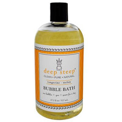 Deep Steep Bubble Bath Tangerine Melon - 17 fl oz