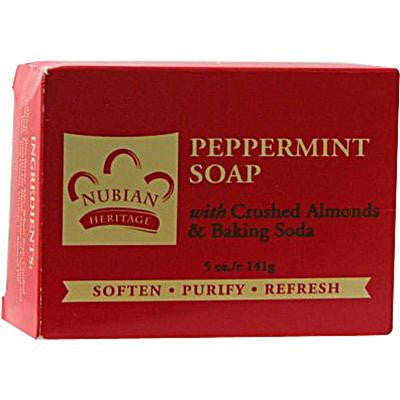 Picture of Nubian Heritage Bar Soap Peppermint - 5 oz