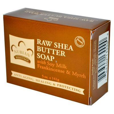 Picture of Nubian Heritage Bar Soap Raw Shea Butter - 5 oz