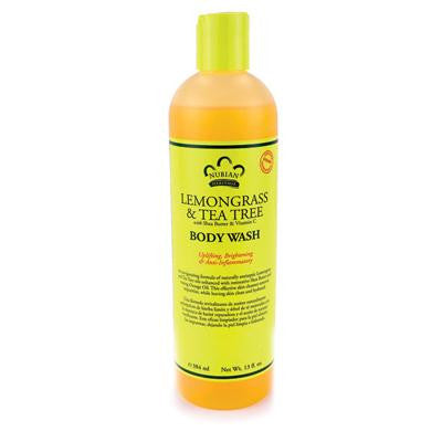 Picture of Nubian Heritage Body Wash Lemongrass And Tea Tree - 13 fl oz