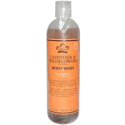 Picture of Nubian Heritage Body Wash With Shea Butter Lavender And Wildflowers - 13 fl oz